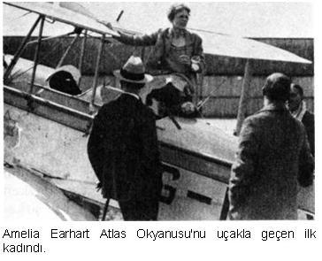 Amelia Earhart Kimdir? - Amelia Earhart Biyografi