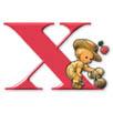 X   - Hareketli Harfler