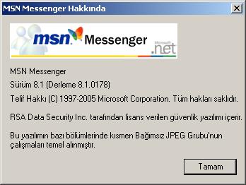 MSN Messenger 75  81