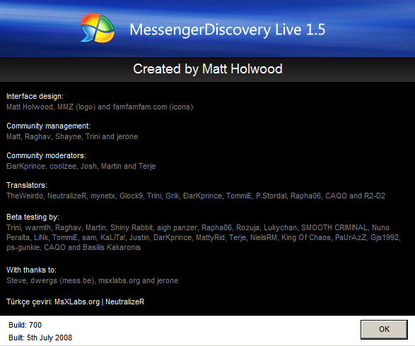 messenger discovery live