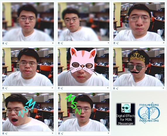digital effects msn messenger 6 Digital Effects for MSN Messenger (Windows Live Messenger)