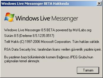 wlm8.5 4 Messenger 8.5 Beta