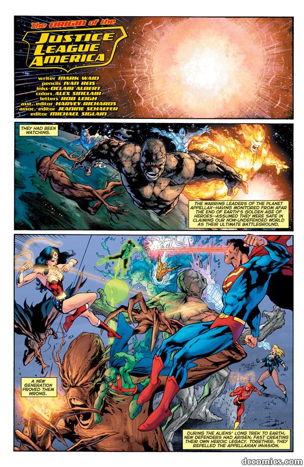 Ünlü Çizgi Film Justice League Of America Karakterleri