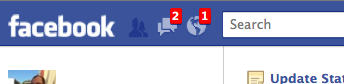Facebook'ta kırmızı uyarı bildirimlerim nerededir?