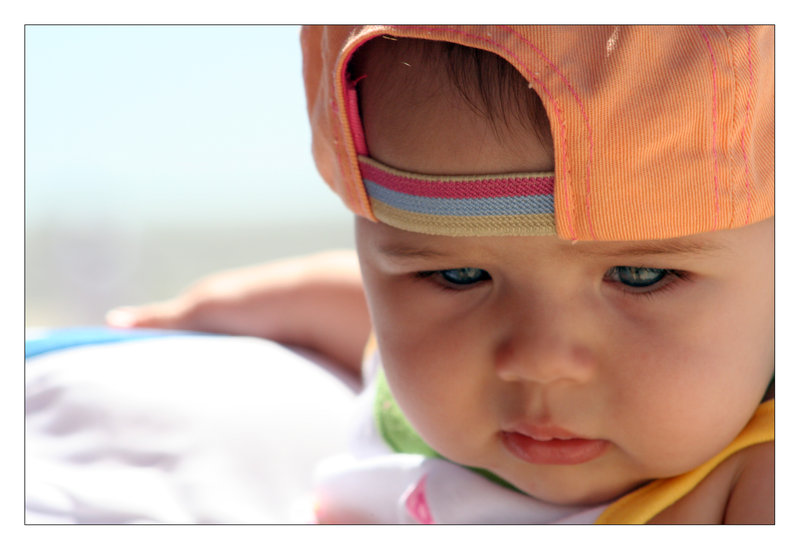 Cool Baby With a Hat by McSes