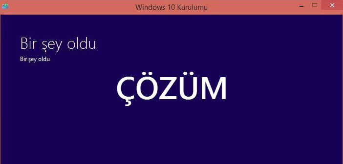 windows 10 hata